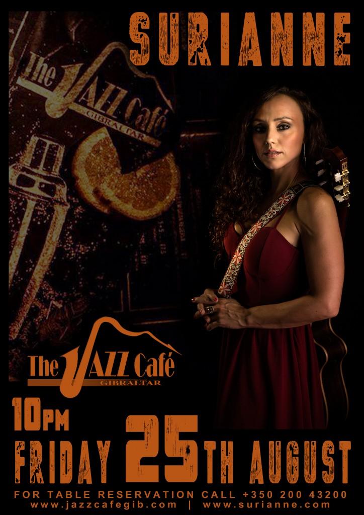 Suri_Jazz Cafe Poster